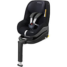 Buy Maxi-Cosi 2way Duo Pack, Total Black Online at johnlewis.com