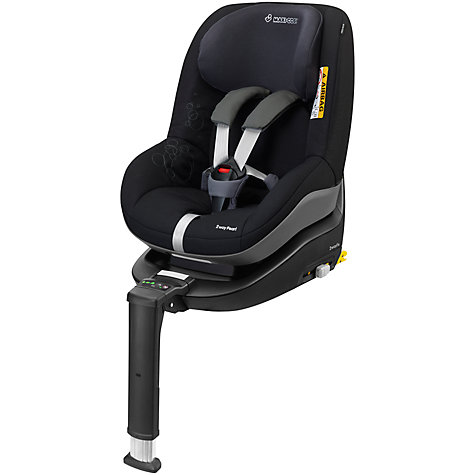 Buy Maxi-Cosi 2way i-Size Duo Pack, Total Black Online at johnlewis.com
