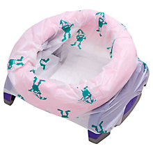 Buy Potette Plus Convertible Travel Potty, Pink/Purple Online at johnlewis.com