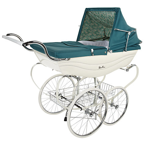 Buy Silver Cross Daisychain Print Balmoral Pram Online at johnlewis.com