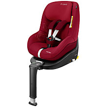 Buy Maxi-Cosi 2way i-Size Duo Pack, Raspberry Red Online at johnlewis.com