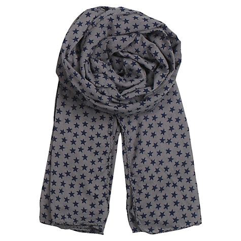 Buy Becksöndergaard Cotton Voile Star Print Scarf Online at johnlewis.com