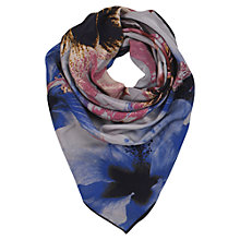 Buy Becksöndergaard Cyber Flower Print Silk Scarf Online at johnlewis.com