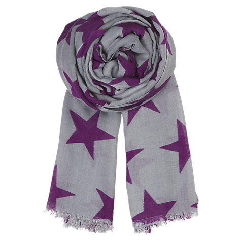 Buy Becksöndergaard Wool & Silk Mix Supersize Nova Star Print Scarf Online at johnlewis.com