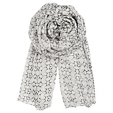 Buy Becksöndergaard  Lace Print Fine Cotton Scarf Online at johnlewis.com