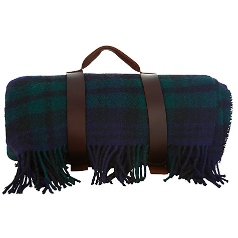 Buy JOHN LEWIS & Co. The Cheviot Tartan Pure Wool Rug, L170cm Online at johnlewis.com