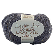 Buy Debbie Bliss Donegal Luxury Tweed Aran Yarn, 50g Online at johnlewis.com