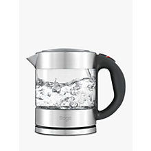 Buy Sage by Heston Blumenthal the Compact Kettle™ Pure Online at johnlewis.com