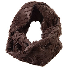 Buy Chesca Cappuccino Soft Fur Snood, Brown Online at johnlewis.com