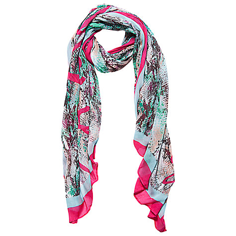 Buy Betty Barclay Animal Long Scarf, Multi Online at johnlewis.com