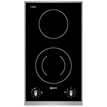 Buy Neff N14K30N2 Domino Ceramic Hob, Black Online at johnlewis.com