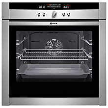 Buy Neff B45E54N3GB Single Electric Oven, Stainless Steel Online at johnlewis.com