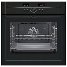 Buy Neff B15E52S3GB Single Electric Oven, Black Online at johnlewis.com