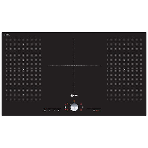 Buy Neff T51T95X2 Induction Hob, Black Online at johnlewis.com