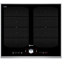 Buy Neff T54T55N2 Induction Hob, Black Online at johnlewis.com