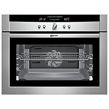 Buy Neff C17E54N3GB Compact Single Electric Oven, Stainless Steel Online at johnlewis.com