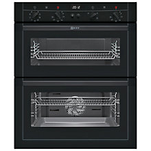 Buy Neff U17M52S3GB Built-Under Double Electric Oven, Black Online at johnlewis.com