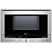 Buy Neff C54R60 Built-In Microwave Online at johnlewis.com