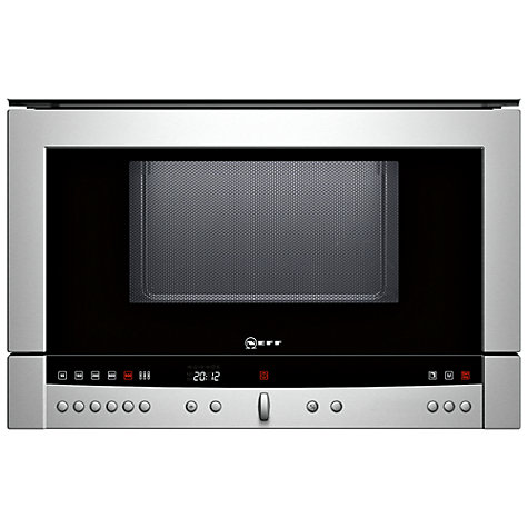 Buy Neff C54L60 Built-In Microwave Online at johnlewis.com