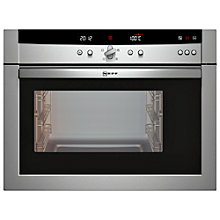 Buy Neff C47D22N3GB Compact Steam Oven, Stainless Steel Online at johnlewis.com