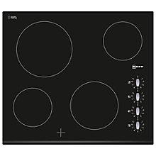 Buy Neff T11K40X2 Ceramic Hob, Black Online at johnlewis.com
