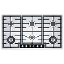 Buy Neff T29S96N1GB Gas Hob, Stainless Steel Online at johnlewis.com