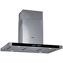 Buy Neff I79M56N0GB Island Chimney Cooker Hood, Stainless Steel Online at johnlewis.com