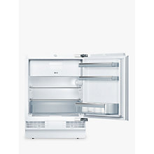 Buy Neff K4336X8GB Integrated Undercounter Fridge with Freezer Compartment, A++ Energy Rating, 60cm Wide Online at johnlewis.com