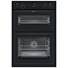 Buy Neff U15E52S3GB Double Electric Oven, Black Online at johnlewis.com