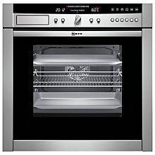 Buy Neff B46C74N3GB Single Electric Oven, Stainless Steel Online at johnlewis.com