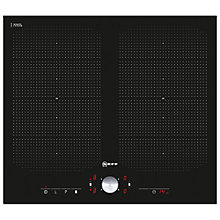 Buy Neff T51T55X2 Induction Hob, Black Online at johnlewis.com