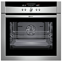 Buy Neff B16P52N3GB Single Electric Oven, Stainless Steel Online at johnlewis.com