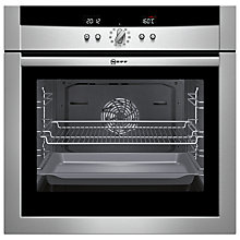 Buy Neff B15E52N3GB Single Electric Oven, Stainless Steel Online at johnlewis.com