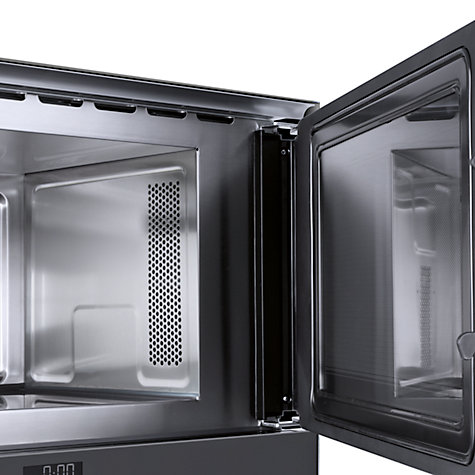 Buy Neff C54R70N3GB Built-In Microwave with Grill, Stainless Steel Online at johnlewis.com