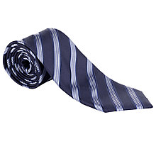 Buy Daniel Hechter Multi-Stripe Silk Tie Online at johnlewis.com