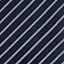 Buy Daniel Hechter Thin Stripe Silk Tie, Navy/White Online at johnlewis.com