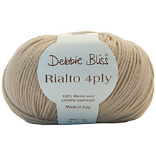 Buy Debbie Bliss Rialto 4 Ply Yarn, 50g Online at johnlewis.com