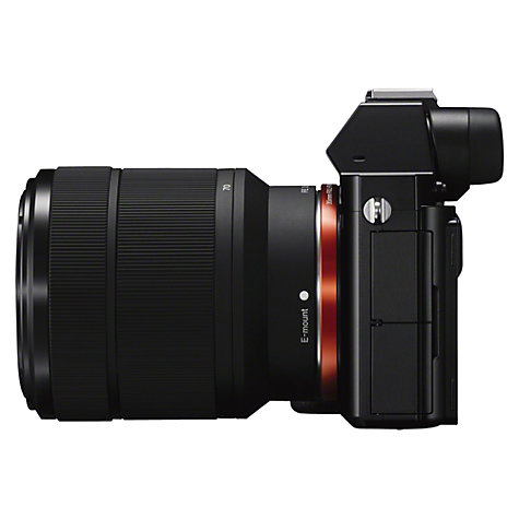 Buy Sony Alpha ILCE-7K Compact System Camera with 28-70mm Lens, HD 1080p, 24.3MP, Wi-Fi, NFC, OLED EVF, 3 Screen Online at johnlewis.com