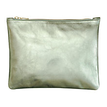 Buy Mimi Berry Daniel Clutch Bag, Mint Online at johnlewis.com