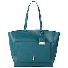 Buy Hobbs London Downham Tote Bag, Teal Online at johnlewis.com