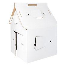 Buy Kidsonroof Casa Cabana Cardboard House Online at johnlewis.com