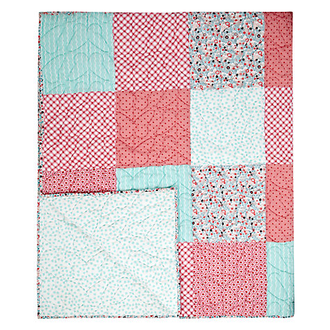 Buy little home at John Lewis Little Fairy Patchwork Throw Online at johnlewis.com