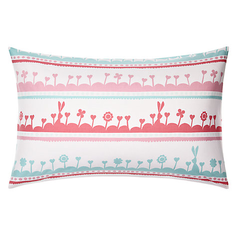 Buy little home at John Lewis Dots & Dolls Garden Rows Single Duvet Cover and Pillowcase Set Online at johnlewis.com