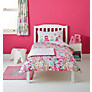 little home at John Lewis Dots & Dolls Reversible Single Duvet Cover and Pillowcase Set