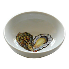 Buy Jersey Pottery Fruits de Mer Oyster Dish Online at johnlewis.com