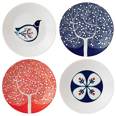 Royal Doulton Fable Side Plates, Set of 4