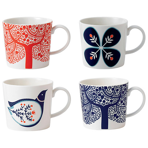 Buy Royal Doulton Fable Mugs, Set of 4 Online at johnlewis.com