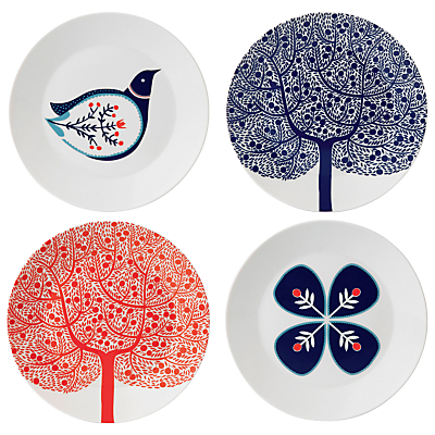 Royal Doulton Fable Dessert Plates, Set of 4