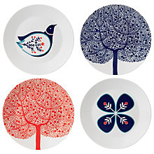 Buy Royal Doulton Fable Dessert Plates, Set of 4 Online at johnlewis.com
