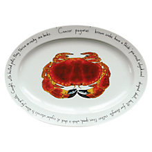 Buy Jersey Pottery Fruits de Mer Crab Oval Dish Online at johnlewis.com